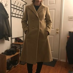 Pendleton Gold label Pure Wool long trench Coat